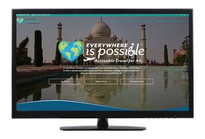 travel website design pensacola